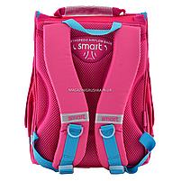 Рюкзак шкільний каркасний Smart Сolourful spots Рожевий (555900), фото 5