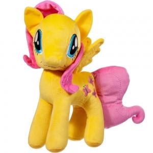 Мягкая игрушка Пони Желтая с розовыми волосами