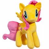 Мягкая игрушка лошадка Флаттершай, фото 2