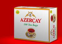 Черный чай Азерчай с бергамотом пакетированный 200 гр
