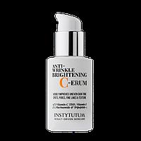 Осветляющая сыворотка против морщин Instytutum Anti-Wrinkle Brightening C-Erum 30мл