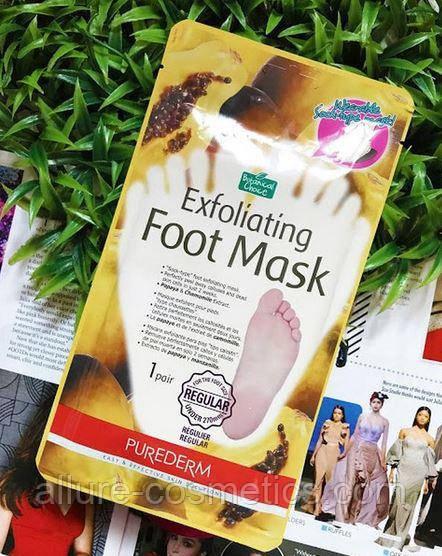 Пілінг шкарпетки Purederm exfoliating foot mask