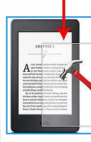 Захисне скло для електронних книг 6 дюймів