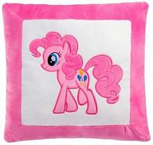 Маленькая плюшевая декоративная подушка Май литл Пони розовая