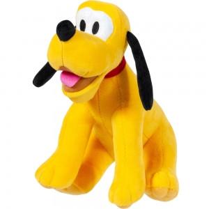 Мягкая игрушка плюшевая щенок собака желтая, 25 см