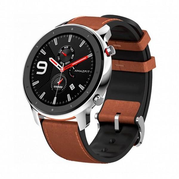 Купить Смарт-часы Amazfit GTR 47mm Stainless steel (Международная версия) (A1902SS)