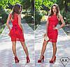Красное платье 15297