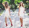 Белое платье 15297