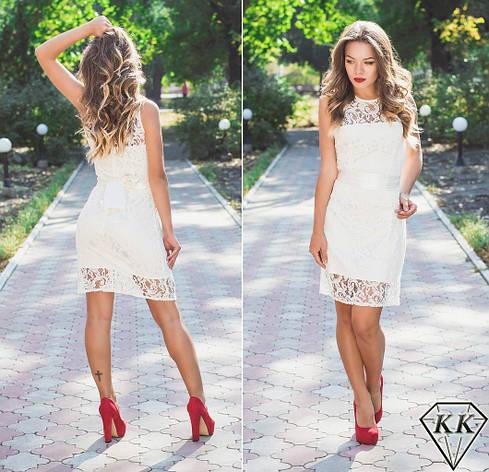 Белое платье 15297, фото 2