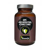 OPC Resweratrol Camu Camu - экстракт виноградных косточек, корень спорыша, фрукт. порошок, 60 кап.