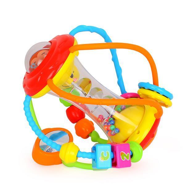 Іграшка брязкальце Hola Toys Розвиваючий м'яч 929 *