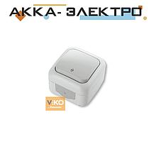Вимикач 1-кл прохідний ViKO Palmiye 90555404 Білий