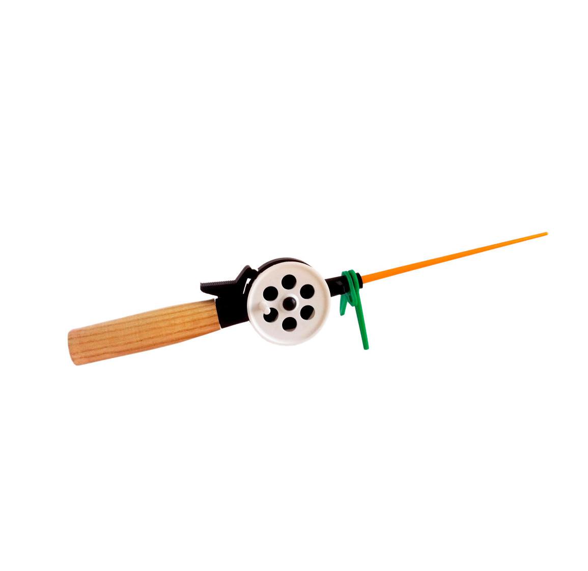 Удочка зимняя Dolpin деревянная длинная ручка