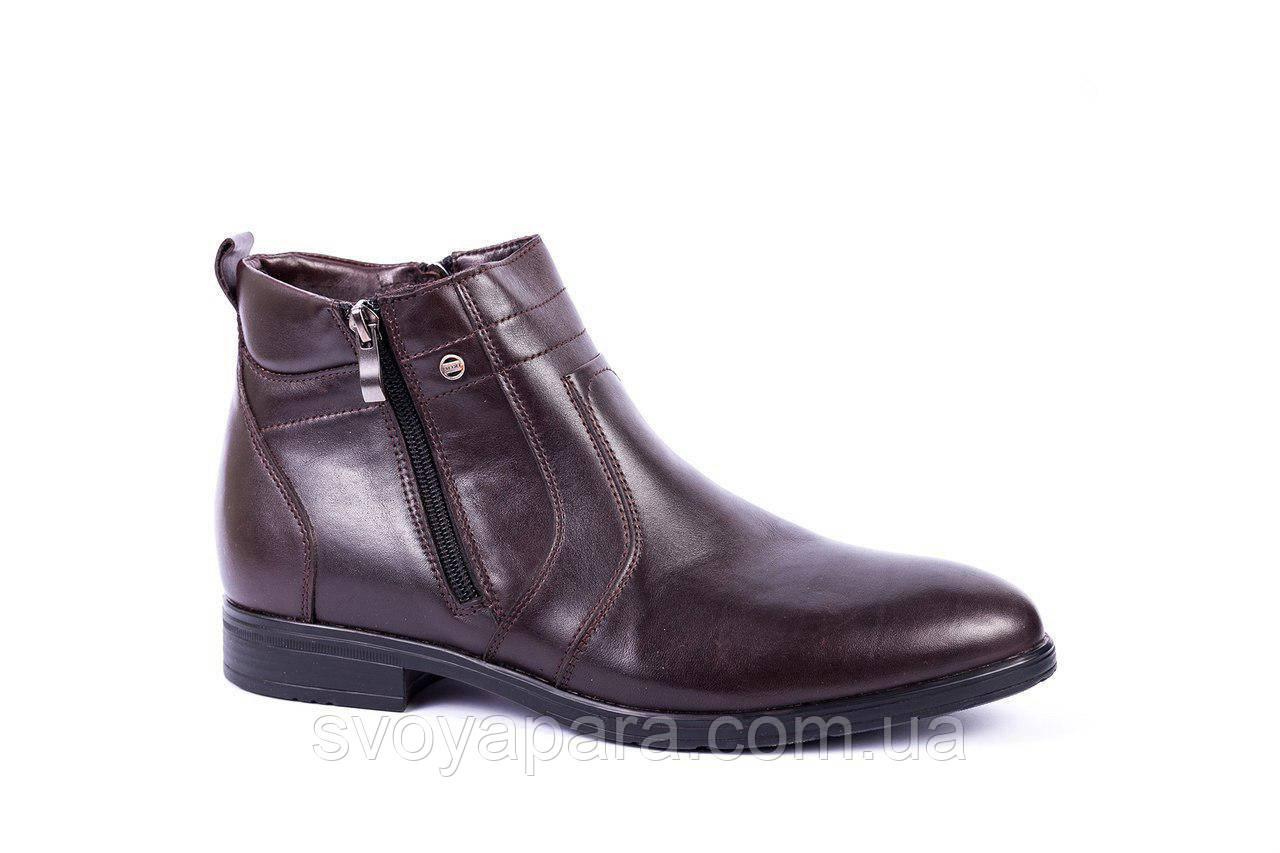 Зимові черевики ІКОС коричневі