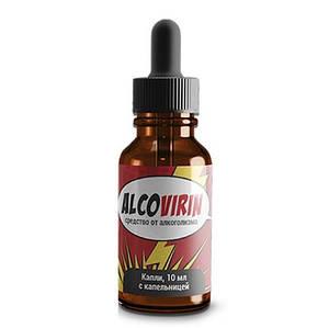 Alcovirin - краплі від алкоголізму (Алковирин)