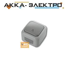 Кнопка дзвінка ViKO Palmiye 90555506 Сірий