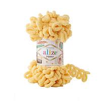 Пряжа Alize Puffy 509 лимон