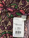 10390-8, павлопосадский платок из вискозы с подрубкой, фото 8