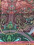 10390-8, павлопосадский хустку з віскози з подрубкой, фото 9
