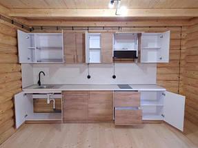 Кухня в деревянном доме_с натуральными материалами
