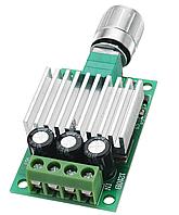ШИМ контроллер. Управление скоростью двигателя постоянного тока с регулировкой 12-30В 10А, фото 1