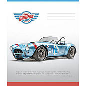 Тетрадь 48 л линия Школярик Car Collection 2719