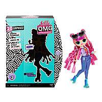 """Игровой набор с куклой L.O.L. Surprise! серии O.M.G"""" S3 - Диско Скейтер кукла лол 3 сезон омг, фото 1"""
