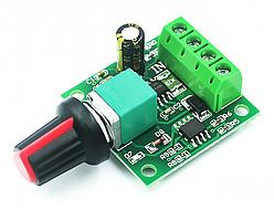 Контролер ШІМ. Управління швидкістю двигуна постійного струму з регулюванням 1.8-15В 2А