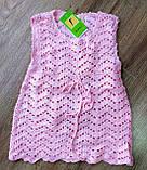 """Дитяче плаття-туніка """"Леді"""" в'язка+всередині підклад, фото 2"""