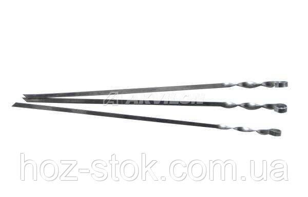 Шампур плоский з нержавіючої сталі 2 мм, довжина 600 мм