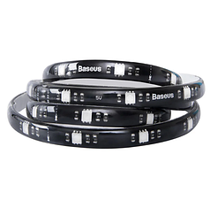 Светодиодная лента RGB Baseus USB Colorful Electronic Sports Game Light Strip 1.5м Black