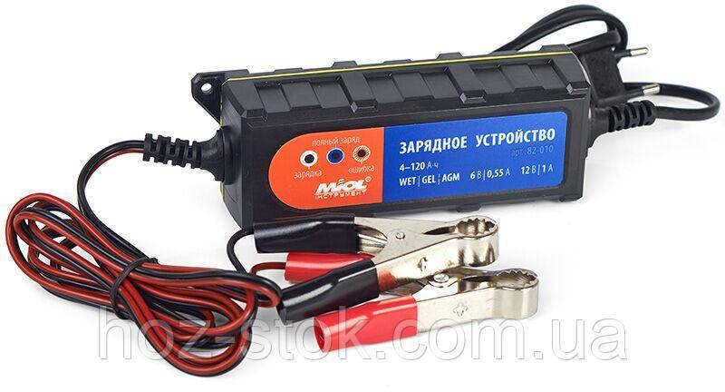 Зарядний пристрій 0.55A / 1A, 6V / 12V (82-010)