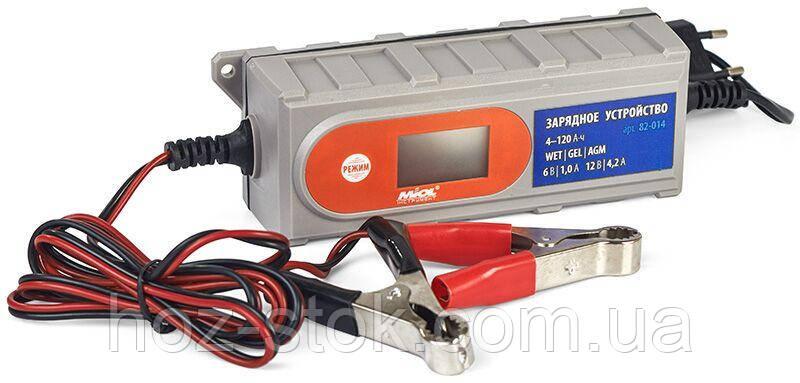 Зарядний пристрій 1.0A / 4.2A, 6V / 12V (82-014)