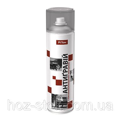 Засіб для захисту кузова автомобіля Антигравій сірий, аерозоль 0.5 л