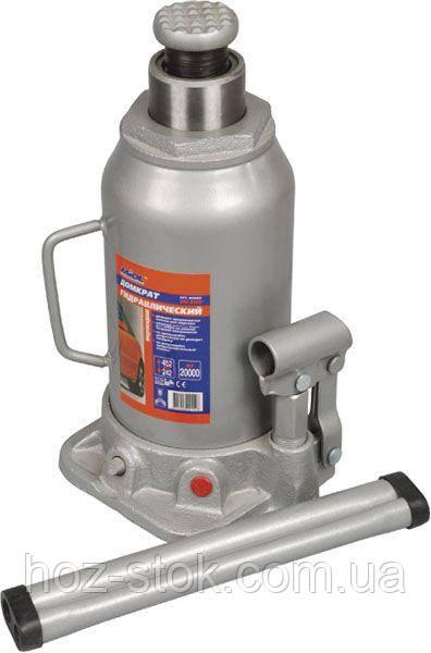 Домкрат гідравлічний пляшковий 15т, 230-460 мм (80-070)