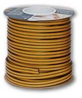 Ущільнювач SANOK гумовий самоклеючий D 7.5х9.5 мм 100м коричневий