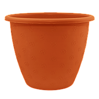 Вазон Верона Алеана 15х11.5 см, 1.1 л (теракотовий) (112016)