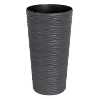 Вазон Ф'южн Алеана 27х51см, 10л (граніт) (115047)