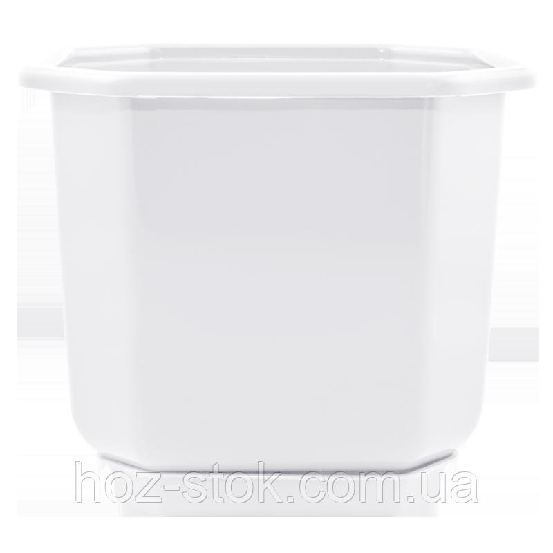 Вазон з підставкою Дама Алеана 32х32 см (білий) (112022)