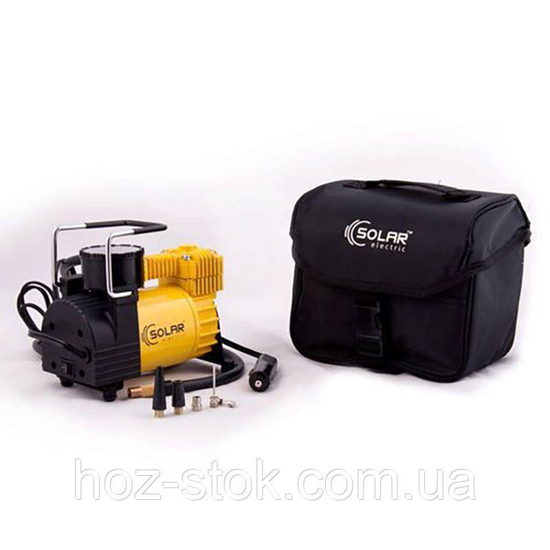 Миникомпрессор автомобільний Solar AR202 12В, 10 бар, 37 л / хв (AR202)