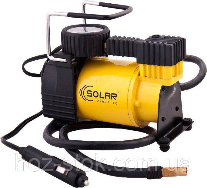 Мінікомпресор автомобільний Solar 12В, 10 бар, 37 л/хв (AR203)