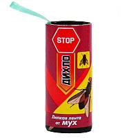 Стрічка липка від мух Дихло STOP