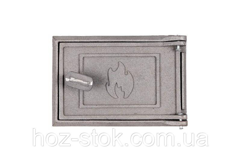 Дверцята чавунні Україна піддувальні 160x150 мм