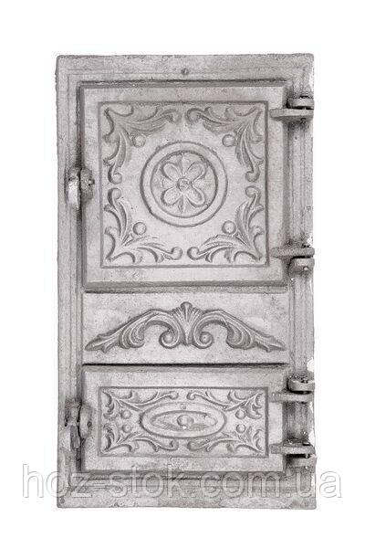 Дверцята чавунні спарені 265x480 мм
