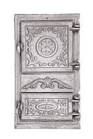 Чавунні Дверцята спарені 265x480 мм, фото 1