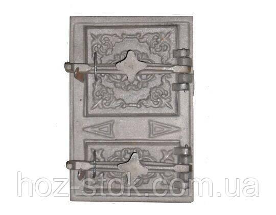 Дверцята чавунні спарені 270х410 мм Поліські