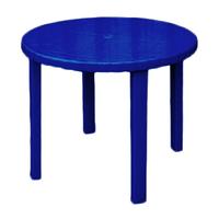 Стіл круглий Консенсус d=880 мм, h=710 мм, синій