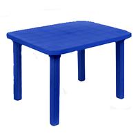 Стіл прямокутний Консенсус 800х1000х710 мм, синій
