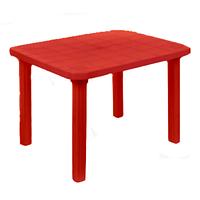 Стіл прямокутний Консенсус 800х1000х710 мм, червоний
