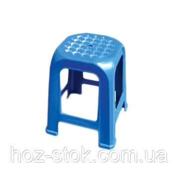 Табурет Консенсус Люкс 461х388х388 мм, темно-синій